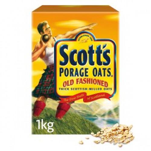 Scott's Oats old fashioned porridge cereal1kg