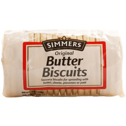 Simmers Butter Biscuits 250g