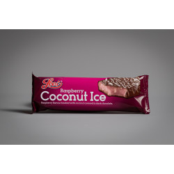 Lee's Raspberry Coconut Ice bar