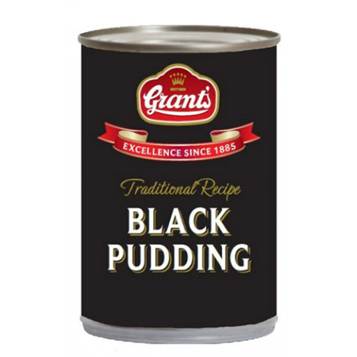 Grants Tinned Black Pudding