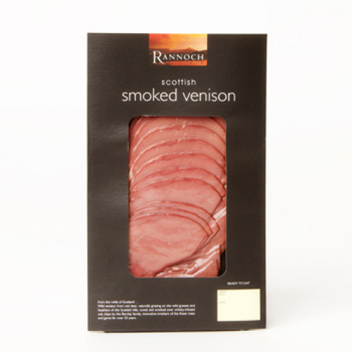Rannoch Smokery Sliced Smoked Venison