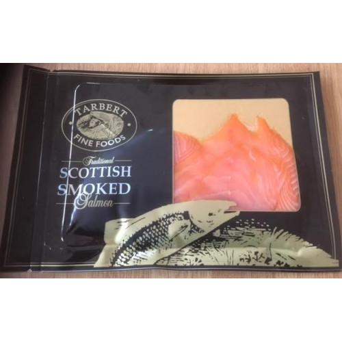 Scottish Smoked Salmon 200g pack