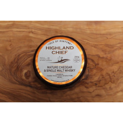 Isle of Kinytre Highland Chief Whisky Cheese